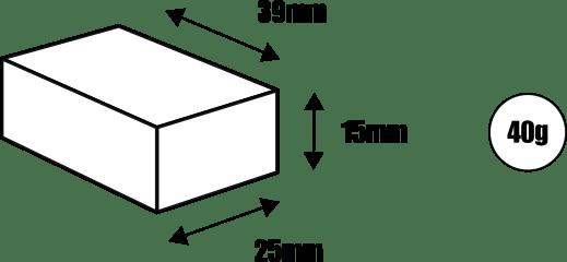 Afmetingen Igaro D2 naafdynamo USB lader